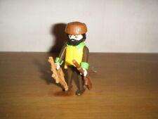 Playmobil série 13 Figurine 9332 Personnage Rare Trappeur Custom Éclaireur Lot