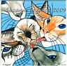 Siamese Cat art print from original painting mounted signed by Suzanne Le Good