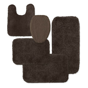 Colormate Universal Microfiber Lid Seat Cover Only Dark Chocolate
