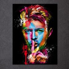 Modern Abstract Oil Painting Wall Decor Art Huge - Rock singer David Bowie
