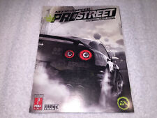 Need for Speed: Pro Street (Official Game Guide: Xbox 360,PC,PS3,PS2,Wii) New!