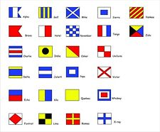 International Maritime Signal Flags Sailor Sticker Decal Graphic Vinyl Label