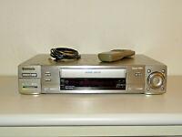 Panasonic NV-HS960 High-End S-VHS ET Videorecorder, inkl. FB, 2 Jahre Garantie