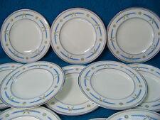 "Coalport Salad/ Luncheon Plates AD. 1750  no. 9151/B TWELVE 7 1/2"""