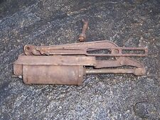 Vintage Old Model T Car Running Board Tire Pump Inland MFG.Co. Auto Hand Pump