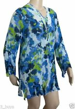 Sara Long Sleeve Machine Washable Plus Size Tops & Blouses for Women