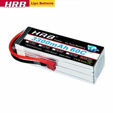 HRB 22.2V 3300mAh 6S Lipo Batterie 60C Deans für RC Flugzeug Akku LKW Auto Buggy