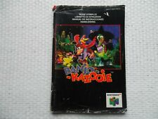 Notice Nintendo 64 / N64 Mode d'emploi Banjo-kazooie manual booklet *