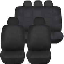 BLACK RACER AIRBAG COMPATIBLE SEAT COVER SET for PONTIAC TORRENT AZTEC