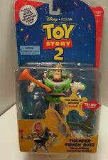"Disney Pixar Toy Story 2 ""Thunder Punch Buzz""  Action Figure"