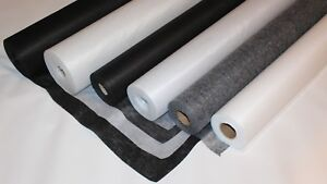 Iron On Fusible Interfacing Sewing Embroidery Backing Stabiliser Water-soluble