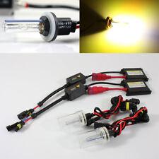 880/881/884/886/893 3000K Yellow AC Slim Ballast Xenon HID Kit Fog Driving Light