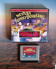 Nester's Funky Bowling (Virtual Boy) with Repro Case No Manual Region Free