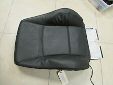 BMW e90 335I Black Leather Cover, Passenger Backrest, OEM # 52107246857