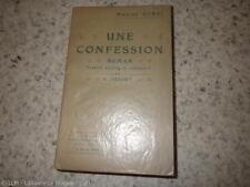 1909.Une confession (édition originale trad.française).Maxime Gorki