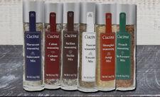 Set of 6 Spice Combo Mediterranean, Cubano, Sicilia, Toscana, Asian, De Provence