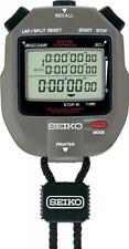 SEIKO SVAS005 300-Lap Memory Stopwatch Printer Port From Japan New