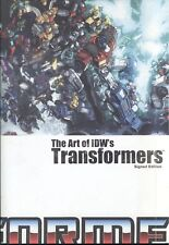 The Art of IDW's Transformers  Signed Edition 36/250