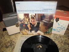 BREAKFAST AT TIFFANY'S Vinyl Soundtrack Lp HENRY MANCINI Original 1961 RCA