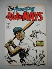 """""""THE AMAZING WILLIE MAYS"""" 9/54 VFN- RARE ONE-SHOT & REVIEW COPY!"""