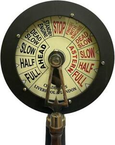 Engine Order Telegraph Chad burn Nautical Maritime Home Decor Accent Collectible
