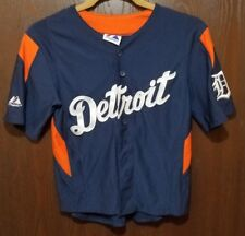 Majestic Magglio Ordonez Detroit Tigers Baseball Jersey Youth Small 8 STITCHED