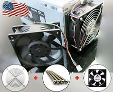 Antminer Fan Replacement + Screws + 120mm Grill Guard Bolts S3 S4 S5+ S7 A6 D3