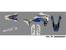 Kit déco CROSS FIRE bleu KUTVEK Sherco SE-R SFE-R 250 300 2014-2016