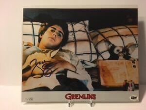 ZACH GALLIGAN /250 Autograph GREMLINS gizmo 8x10 Photo : Bam Box Exclusive COA