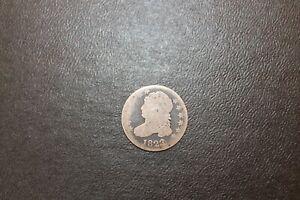 1823 Bust Dime .10