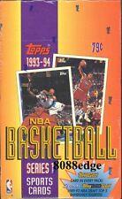 1993-94 TOPPS SERIES 1 NBA BASKETBALL SEALED BOX: BLACK GOLD - MICHAEL JORDAN
