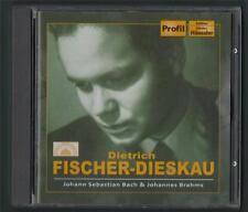 Dietrich Fischer-Dieskau. Bach & Brahms. Profil. Hanssler. CD.  y1.67