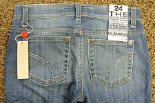 JOE'S SOCIALITE KICKER Shorts Cropped JEANS 24 NWT$175 Sexy Ludlow Distress Wash