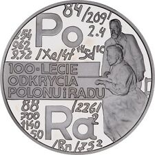 Poland / Polen - 20zl 100th anniversary of discovering polonium and radium