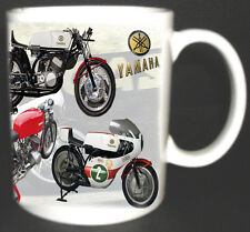 YAMAHA TD2 CLASSIC MOTORBIKE MUG. LIMITED EDITION. 1969/70 TD1 *