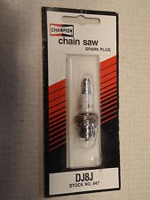 DJ8J Champion Chainsaw Spark Plug