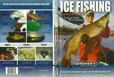 Lindner Ice Fishing Hardwater Location Patterns Perch Trout Walleye DVD NEW