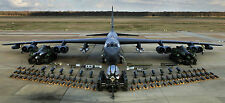 "B-52 BOMBER MILITARY AIR FORCE 19.5"" x 43""  LARGE HD WALL POSTER PRINT"