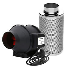 """VIVOSUN 4"""" inch Inline Duct Fan w/ Speed Controller & Air Carbon Filter Combo"""