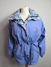 BRADSPORT Ladies Purple Lightweight Waterproof Gore-Tex Jacket Coat Hood Size 12