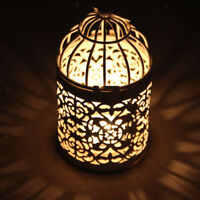 Hollow Out Candlestick Tealight Candle Holder Lantern Home Wedding Decor #3