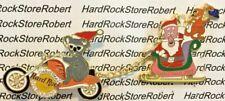 2001 HARD ROCK CAFE MELBOURNE KOALA BEAR/SANTA CLAUS CHRISTMAS DANGLE PIN