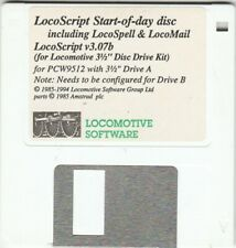 More details for locoscript 3 start of day disc for amstrad pcw9512 computers with 3.5 inch drive
