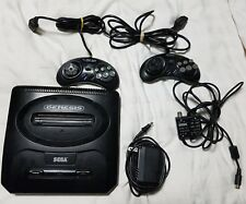Sega Genesis Model 2 + 2 controllers + 5 games - *USED*