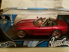 Hot Wheels West Coast Customs Whips 1/18th Dodge  Viper SRT-10