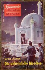 Spannende Geschichten Heft 9 Die unheimliche Moschee Alfred Salomon 1954
