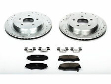 For 1997-2013 Chevrolet Corvette Brake Pad and Rotor Kit Rear Power Stop 32517QS