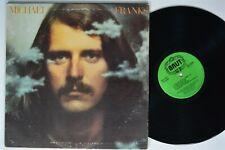 MICHAEL FRANKS Self-Titled BRUT LP