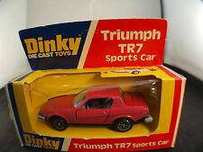 Dinky Toys Gb n° 211 Triumph TR7 Sports car neuf en boite MIB
