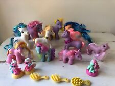 Lot 16 MLP Toys My Little Pony Played With Condition Unicorn Various Sizes